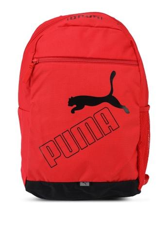 PUMA red Phase Backpack II BAC09AC479BEBAGS_1