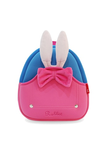 Nohoo pink Nohoo Kids Backpack Rabbit (Pink) 1BED9KC0DC2E3AGS_1