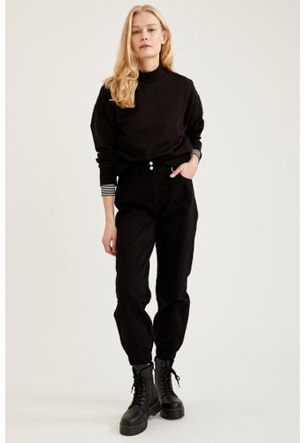 DeFacto black Woman Woven Trouser 7BCC6AAEF62362GS_1