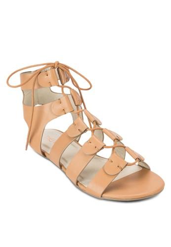Twill 羅馬涼鞋, esprit outlet台北女鞋, 鞋