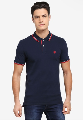 Selected Homme navy New Season Polo Shirt BF389AA2573EC3GS_1
