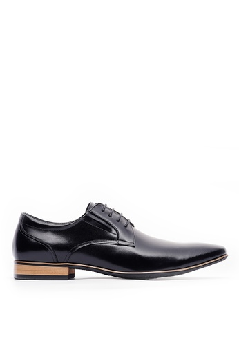 Life8 black Formal Derby Leather Shoes-09805-Black 50BF9SH3C13E12GS_1