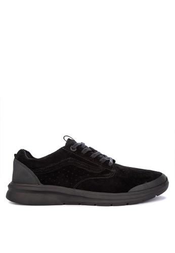 VANS black Nubuck Iso Perf + Sneakers C7D82SH2BD717EGS_1