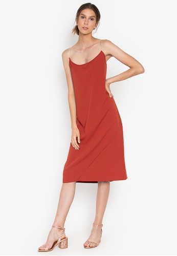 6bd87678b5a8 Shop the___edit Naomi Low Back Dress Online on ZALORA Philippines