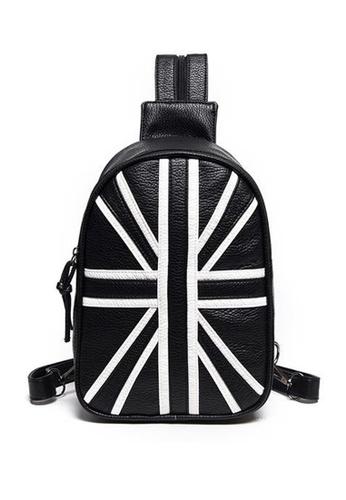 Vince black Sling Bag Backpack Durable Single Strap Shoulder Pack for Indoor Outdoor Use (Black) FL898AC81AWGMY_1