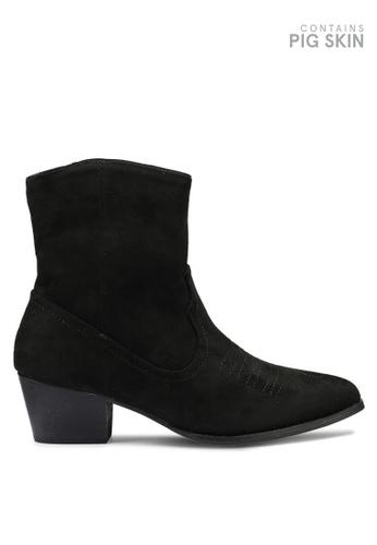 VANESSA WU black Leona Boots 4CCA8SHBE0F326GS_1