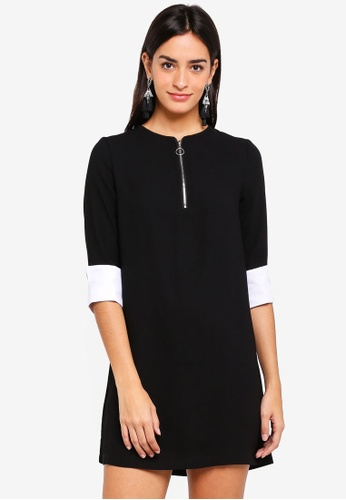 ZALORA black O Ring Detailed Dress BD651AAE7AACCCGS_1