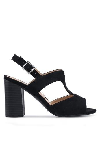 Divine Factory black Jolene Heels B4394SH4E09B3CGS_1