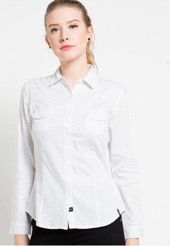 X8 white Angie Shirt X8323AA49YPMID_1