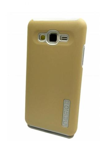 MobileHub gold DualPro Shockproof Case for Samsung Galaxy J1 28F80ACBA6DB3DGS_1