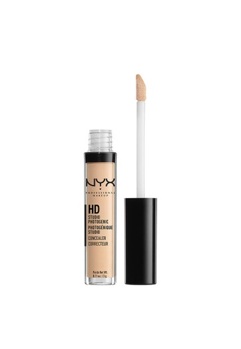 NYX Professional Makeup beige NYX Professional Makeup HD Studio Photogenic Concealer Wand  - NUDE BEIGE 5432CBEAFAAED3GS_1