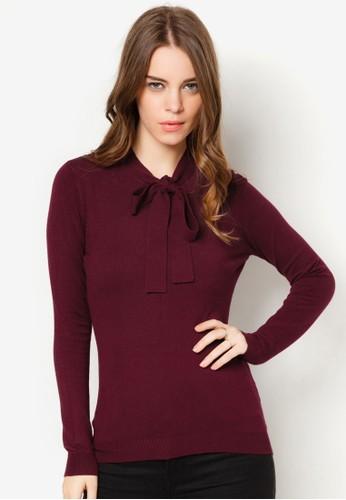 繫帶素色長袖衫, 服飾, 連帽上衣 &esprit 折扣amp; 連帽外套
