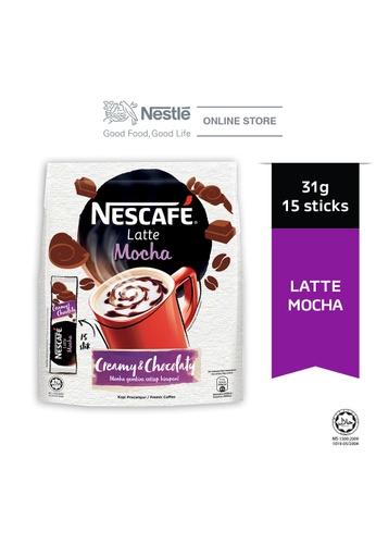 NESTLE NESCAFE Latte Mocha 15 Sticks 31g A1CF6ES1EC3E71GS_1