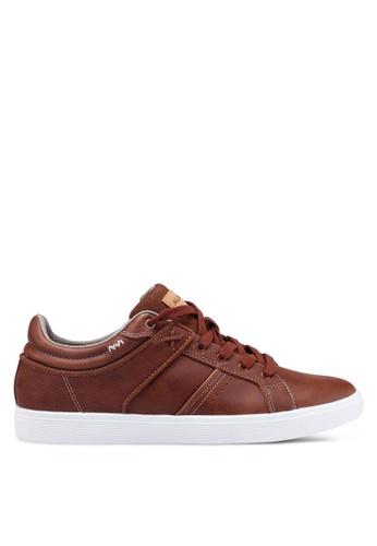 ALDO brown Agrosien Sneakers 6C385SHE4F058AGS_1