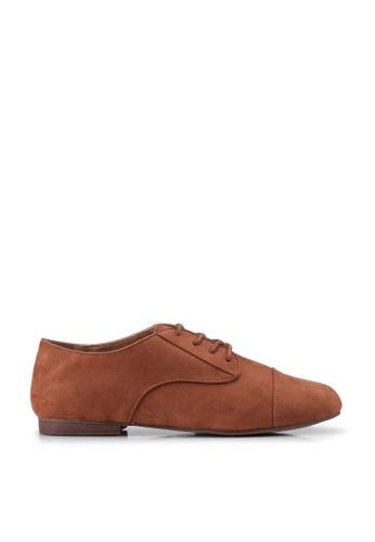 Call It Spring brown Balinia Derby Shoes 5D2BASH51AC6B8GS_1