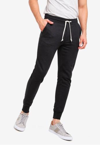 J.Crew black Slim Cotton Poly Sweatpants A6704AA2697D97GS_1