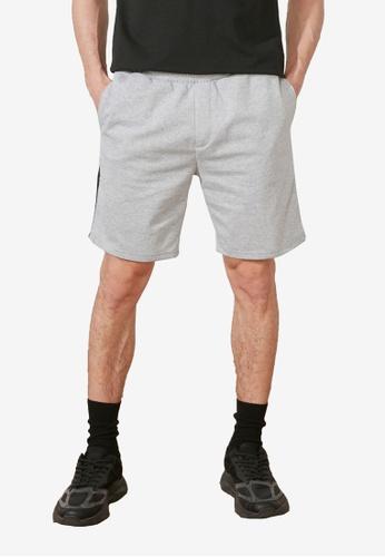 Trendyol grey Regular Fit Shorts CD67CAAAC9BA02GS_1