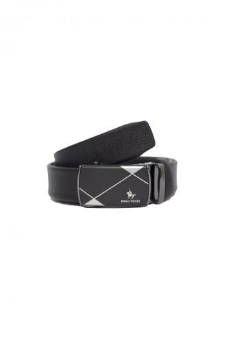 POLOVENZI black POLOVENZI Mix Leather Men Belt 9FCC1ACEC08DDCGS_1