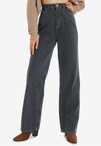 Trendyol black High Waist Mom Jeans 2BE42AA58347D0GS_1