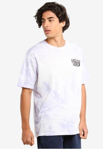 Cotton On 紫色 印花T恤 32DE6AAEFF6CE2GS_1