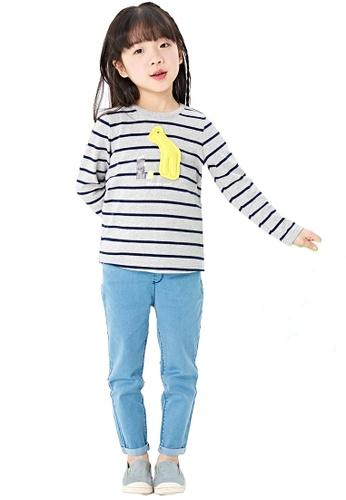 M.Latin blue Jeans with Pocket Stitchings 4E43EKA5EF3CA1GS_1