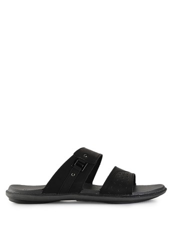 Homyped black Davidson 02 Men Sandals HO842SH24PWLID_1
