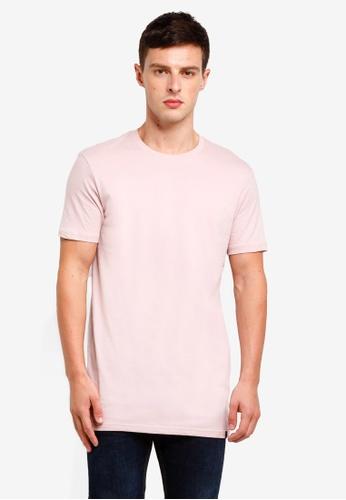 Factorie 紫色 Longline T Shirt C47D0AA5991512GS_1