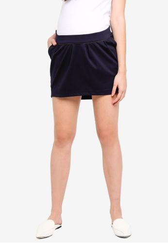 Envie De Fraise navy Maternity Breonna Skirt 13919AA8DE8432GS_1
