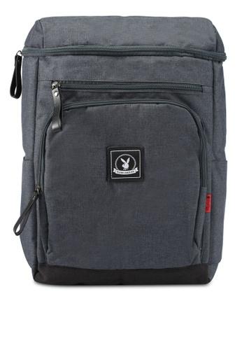 Playboy grey Playboy Backpack PL371AC0SJZKMY_1