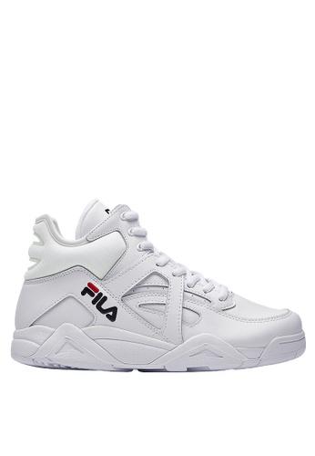 FILA white Online Exclusive BB-CAGE Sport Shoes 7C03CSH4ECE45DGS_1