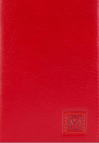 Volkswagen red Volkswagen Bi-Fold Long Wallet VO089AC38GLDMY_1