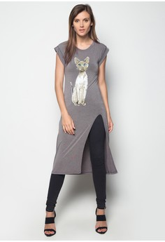 Long Blouse with Slit