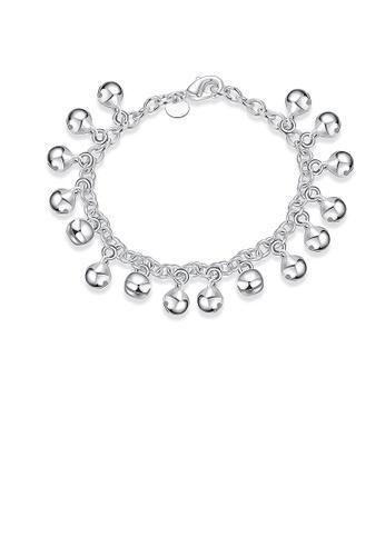 Glamorousky silver Fashion Simple Bell Bracelet 4AFB0AC17B7094GS_1