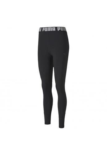 puma black Favourite Elastic 7/8 Women's Training Leggings 40B3DAAB454537GS_1