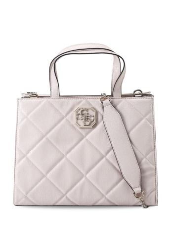 Guess pink Dilla Elite Society Satchel Bag 39EFFAC5128E06GS_1