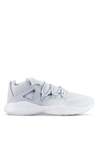 Nike silver Men's Jordan Formula 23 Low Shoes NI126SH0RWGNMY_1