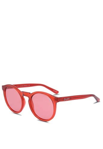Quay Australia red Kosha Comeback Sunglasses 7260BGLC79B3C9GS_1