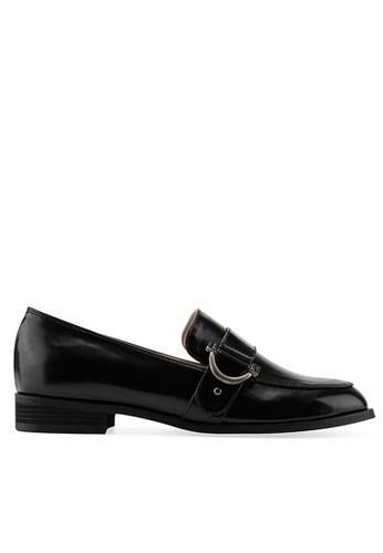 SPUR black Clip Buckle Loafer 0181BSH19BD5B8GS_1