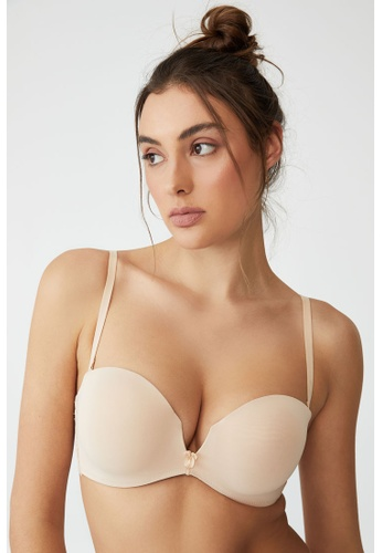 Cotton On Body multi Ultimate Comfort Lace Strapless Push Up2 Bra 3F5E5USC4AF08AGS_1