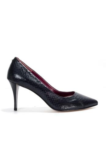 91c3dd8721a Shu Talk black Sexy Gorgeous Snakeskin High Heel Shoes SH397SH0GC30SG 1