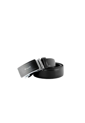 Valentino Rudy black Valentino Rudy Italy Men's 34mm Leather Auto Gear Buckle Belt 0463003-305 A4839AC3C81518GS_1
