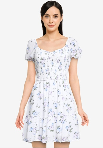 Hollister white Short Dress C0ACBAA266357BGS_1