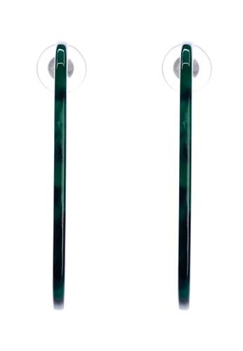 Irene green Sasha Earrings- Statement Earrings Square F6E56ACE3A3227GS_1