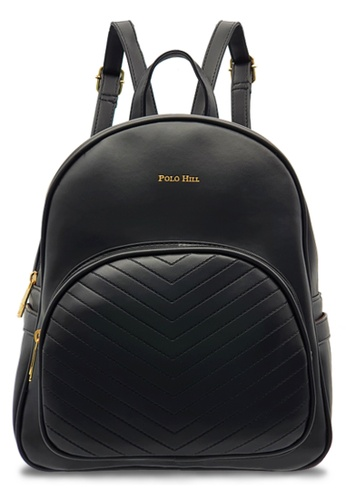 Polo Hill black Polo Hill Black Backpack 99675AC9A261E1GS_1