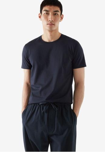 COS blue Regular-Fit T-Shirt 86559AA55FE7DFGS_1