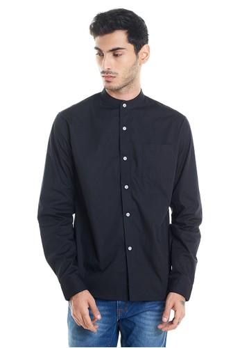 SVPERBIA black Svperbia Long Sleeve Shirt Oxford Black 2A2AEAA278E191GS_1