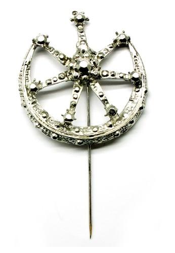 Paulini silver Pin Tudung Moon Crest (R) PA011AA05LAWMY_1