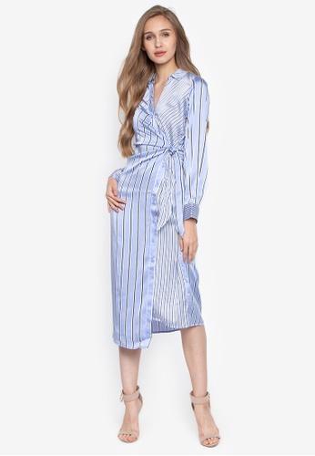19eb98411e39e Shop WAREHOUSE Mixed Stripe Shirt Dress Online on ZALORA Philippines