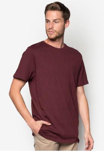 抽象印花短袖T 恤zalora 衣服評價, 服飾, 印圖T恤