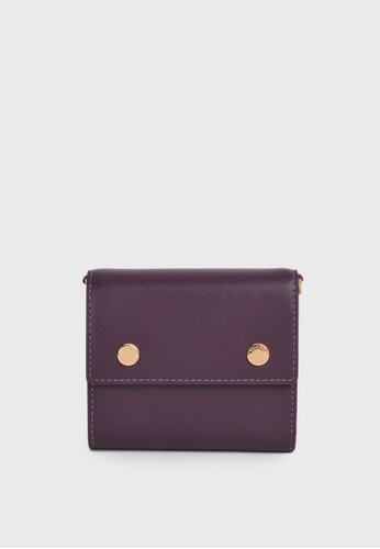 Tocco Toscano purple Holly III Trifold Wallet (Purple) 18555AC35FC1CCGS_1